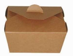 Take out box 13 x 10,5 x 6,5 cm, 650 ml (paczka 25 szt.)